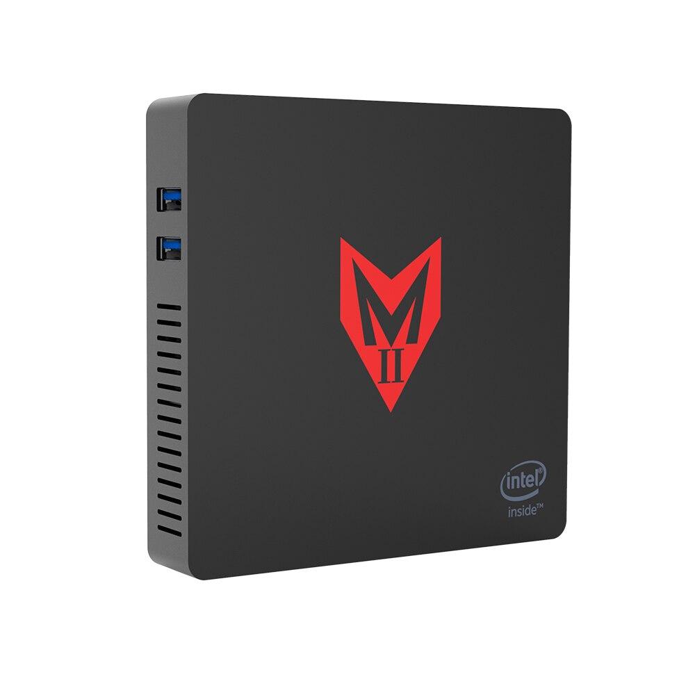 MII-V Windows 10 Mini ordinateur 4GB RAM 64GB eMMC 4K Intel Apollo Lake J3355 CPU Intel HD Graphics 500