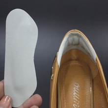 1Pair Foot Care Soft Imitation Leather Heel Protectors Pain Back Heel Pad