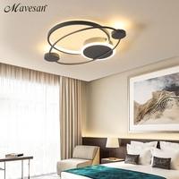 Modern Acrylic ceiling lights for bedroom support 110V and 220V Remote control led surface mount lamps lamp deckenleuchten