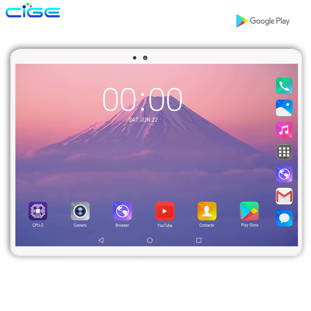 New 10.1 inch 4G LTE Phone Call Tablets Android 9.0 Octa Core 6G+128G Tablet Pc 3G Dual SIM Card laptop WiFi GPS Bluetooth tab