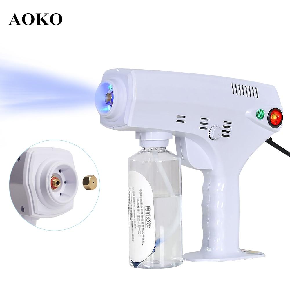 AOKO New Multifunction Nano Steam Gun Indoor Spray Car Clean Hair Spray Machine Ultra Fine Aerosol Water Mist Trigger Sprayer