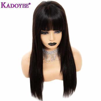 絹のようなストレートレースフロント人毛ウィッググルーレスブラジルの Remy 毛 13 × 4 フロントレースのかつら前髪ロング黒人女性のための