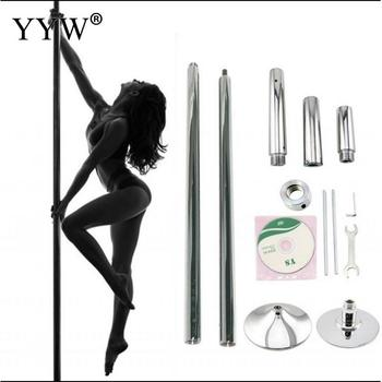 Dancing Pole Professional 360 Stripper Pole Dance Spin Pole Removable Home Fitness Exercise Training Equipment Pole X Pole Kit фото