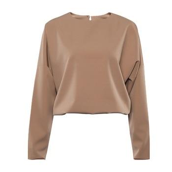 OOTN Casual High Waist Khaki Pants Women Summer Spring Brown Ladies Office Trousers Zipper Pocket Solid Female Pencil Pants 2020 9