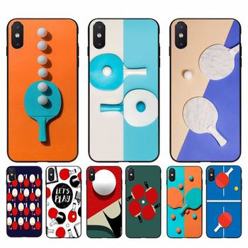 Yinuoda pingpong Custom Photo Soft Phone Case For iPhone 11 8 7 6 6S Plus X XS MAX 5 5S SE 2020 XR 11 pro Cover image