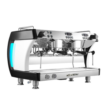 Professional Coffee Machine Double Head Coffee Maker With Double Steam Pipes