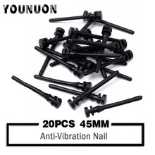 20 PCS 45mm Screw Pin Rivet Rubber PC Fan Anti Vibration Mount Silicone Screws Noise Absorbtion Fans computer screws
