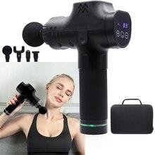 Fascia Gun Cordless Wiederaufladbare Muscle Stimulator Tiefe Gewebe Massager Gerät Körper Entspannung Abnehmen Gestaltung Schmerzen Relief
