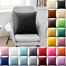 цена на Solid Colors Throw Cushion Cover Bedroom Printing Cushion Pillow Case 45x45cm Grometric Striped Cushion Covers