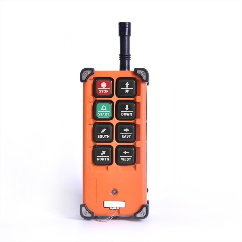 Image 4 - Industrial Wireless f21 e1b Single Speed 8 Buttons F21 E1B Hoist Remote Control (1 Transmitter+1 Receiver) for Crane f21 e1bRemote Controls   - AliExpress