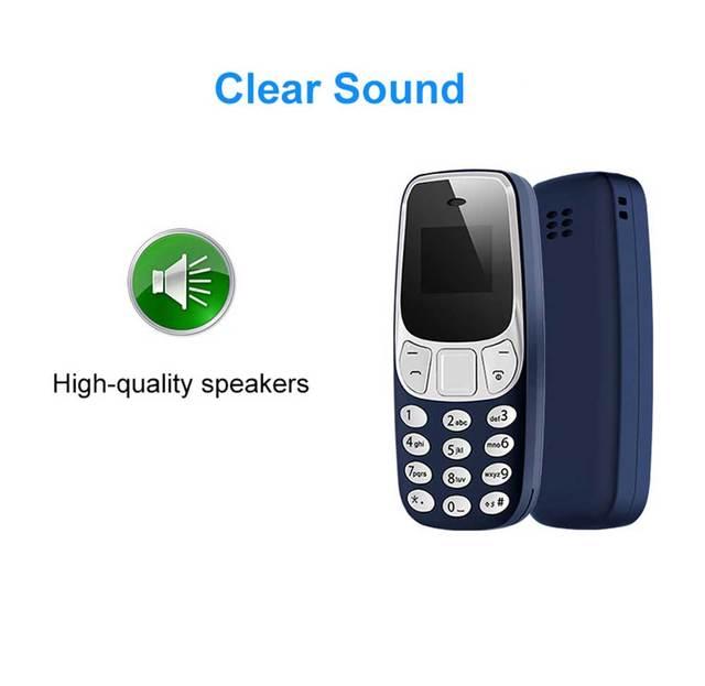 Super Small Mini Mobile Phones Bluetooth Earphones Voice Changer Dialer Low Radiation Dual SIM Cell Phones PK 7s+ KK1 J8 J9 T3 4