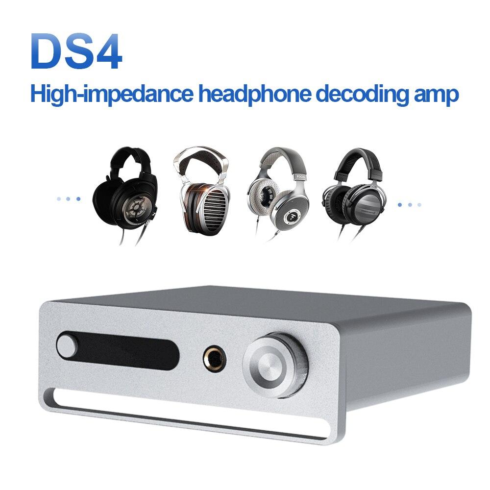 DS4 MINI USB DAC ES9038Q2M Bluetooth APTXHD amplificateur audio décodeur casque ampli