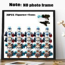 Novo 20 pçs/lote estrela clone trooper guerras rebeldes stroom mini sith jedie cavaleiros figuras blocos de construção compatível kidstoys