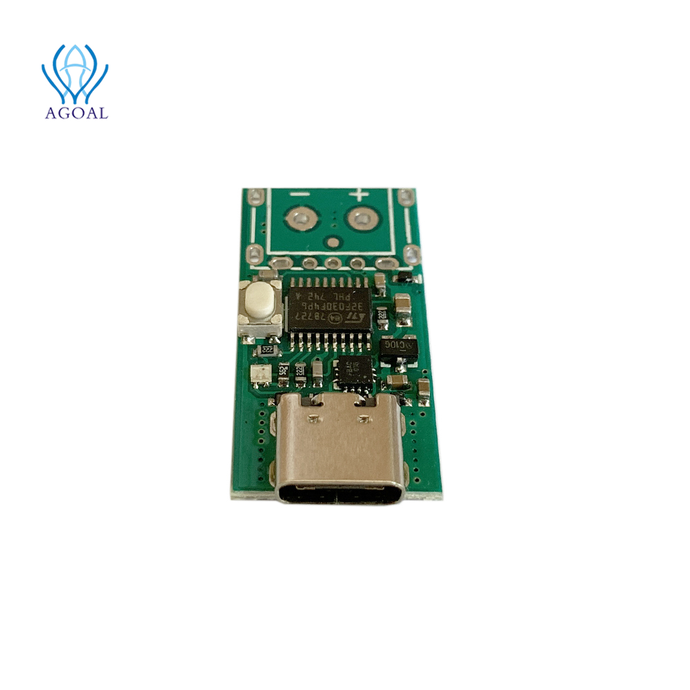 (bare board) ZY12PDN PD DC Decoy Detection Type-C PD2.0 3.0 Fast Charging Trigger Module Polling HID Programming Module MAX100W
