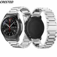 Gear S3 Frontier La cinghia Per Samsung Galaxy orologio 46mm/42mm/attivo 2 20 millimetri 22 millimetri watch Band huawei watch gt amazfit bip cinghia