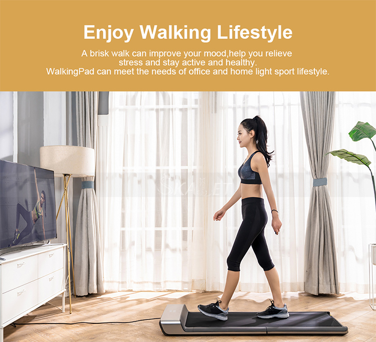 CE Approval Electric Foldable WalkingPad Treadmills Body Slimming Exercise Equipment VisualizedSmart Fitness Machine
