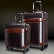 Nouveau jeu de bagages de voyage d'affaires avec sac à main valise trolley pour hommes, mot de passe, boîte d'embarquement