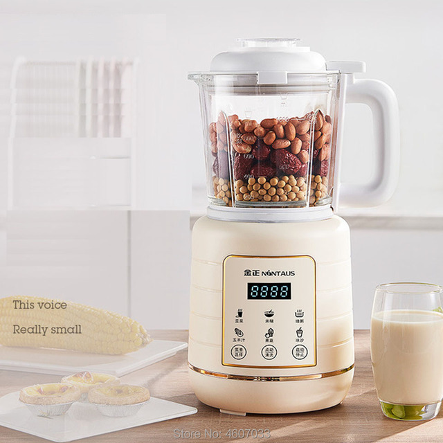 Household blender automatic multifunctional soy milk baby food supplement ice smoothies food mixer juicer food fruit processor 1