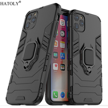For iPhone 11 Pro Max Case Cover Finger Ring Back Shell Hard Protective Phone