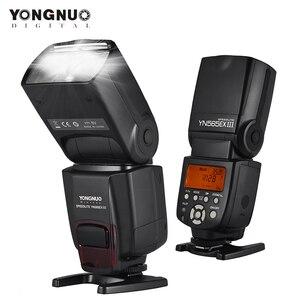 Image 1 - YONGNUO YN565EX III lampy błyskowej Speedlite bezprzewodowy TTL Slave Flash Speedlite do canona lustrzanka cyfrowa w/GN58 wysokiej prędkości System recyklingu
