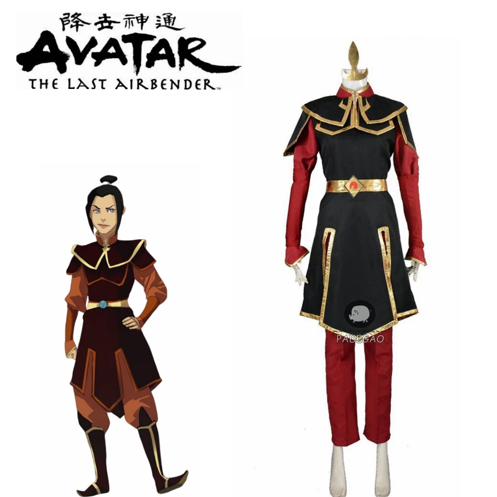 Azula Fire Nation Princess Avatar The Legend Of Korra Cosplay Costume Custom Size Free Shipping