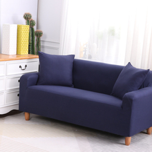 Elastic Sofa Cover For Living Room Magic Couch Cover 1/2/3/4 Seater Armrest Sectional Corner Sofa Slipcovers Stretch   Universal
