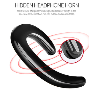 Image 3 - New Ultralight Bone Conduction Bluetooth 4.1 Earphone Painless Wear Ear Pods Ports  Gaming Headset for Iphone Android Samsung