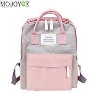 Mochilas impermeables para ordenador portátil de Nylon para mujer mochilas escolares de diseño de marca para adolescentes y niñas mochilas de hombro mochila femenina