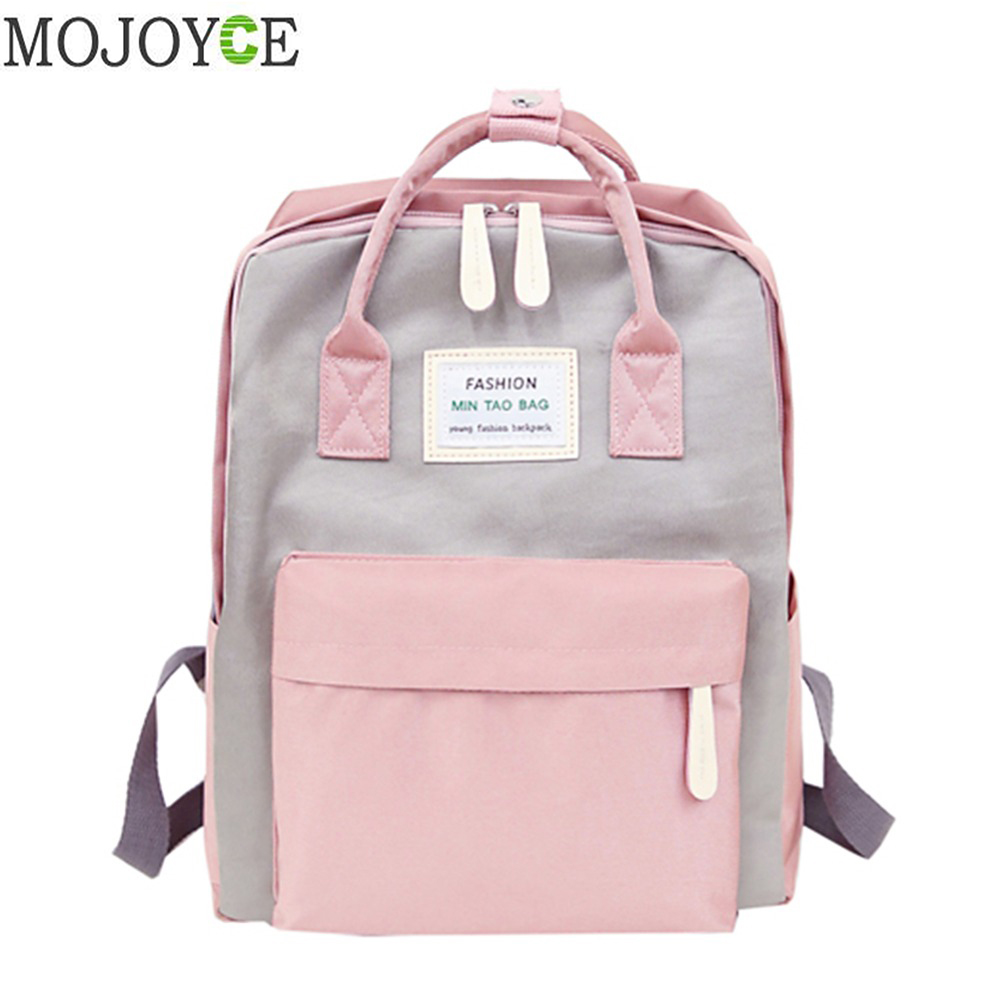 Sacos de ombro das meninas do adolescente do desenhador do curso da marca das mochilas do portátil das mulheres à prova dnylon água