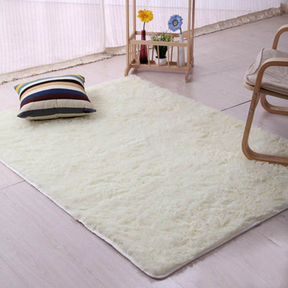 Living Room/bedroom Rug Antiskid Soft Carpet Modern Carpet Mat  White Pink