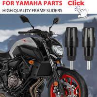 Frame Sliders Crash Pads Protector For YAMAHA MT 07 Accessories Bobbins Falling Guard MT10 MT-07 FZ07 2015 2016 2017 2018 2019