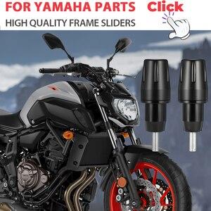 Image 1 - MT 07 Frame Sliders Crash Pads Protector For YAMAHA  Accessories Bobbins Falling Guard MT10 MT 07 FZ07 2015 2016 2017 2018 2019
