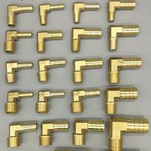 Wąż mosiężny połączenie z króćcem kolanko 6mm 8mm 10mm 12mm 16mm do 1 4 1 8 1 2 3 8 #8222 gwint męski łącznik kolczasty złącze wspólne tanie tanio Mężczyzna Elbow Odlewania Zmniejszenie WEI085 Miedzi Barb Quick Connection L Shaped 6mm 8mm 10mm 12mm 14mm 16mm 19mm Pneumatic Accessories Plumbing Accessories Water Piep Fitting