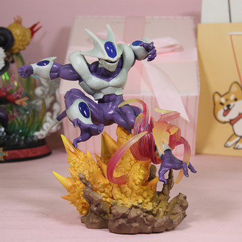 26CM Anime Dragon Ball Super Guild Wars Theater Version Coora Frieza Brother Final Shape GK Statue Collect Morden Toy M3140