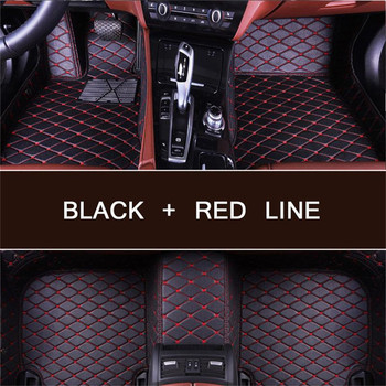 Custom car floor Foot mat For NISSAN Armada Altima Dualis Juke Frontier Fuga Leaf March Note waterproof car accessories styling image