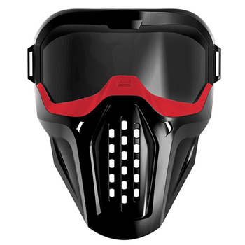 Mask Protective Eyeglass For Nerf Blaster Out Door Games Red