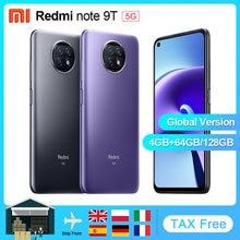 Globale Version Xiaomi Redmi Hinweis 9T 5G 4GB 64GB /128GB Smartphone Dimensity 800U NFC 5000mAh 48MP Kamera 6.53