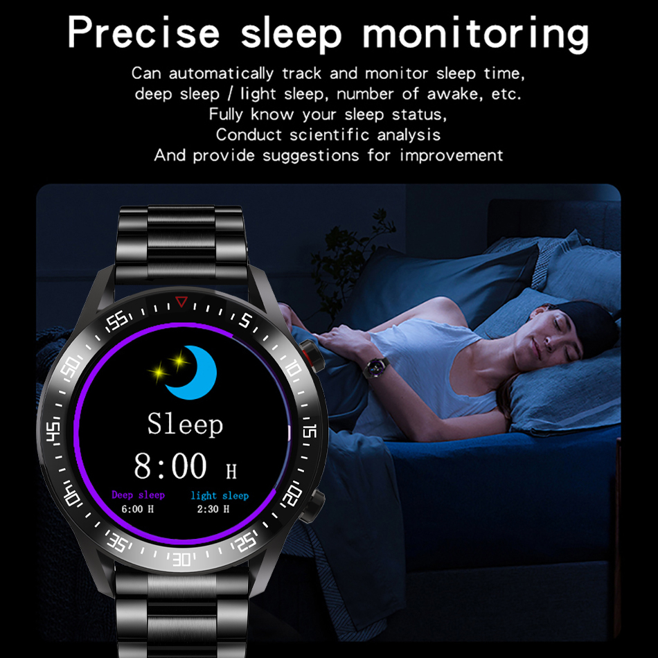 Hd10505aec8704183a7692724ea2bbdf5H LIGE New Smart watch Men Full touch Screen Sports Fitness watch IP68 waterproof Bluetooth Suitable For Android ios Smart watch
