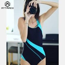 Attratio цельный женский спортивный купальник Спортивная одежда