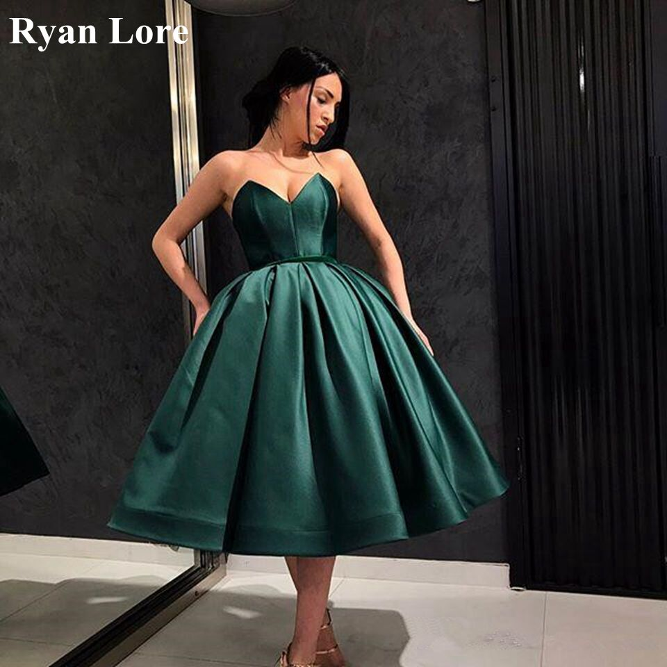 Robe De Soiree Royal Blue Short Ball Gown Prom Dresses 2020 Sexy Sweetheart Neck Women Party Night Formal Evening Dress Vestidos