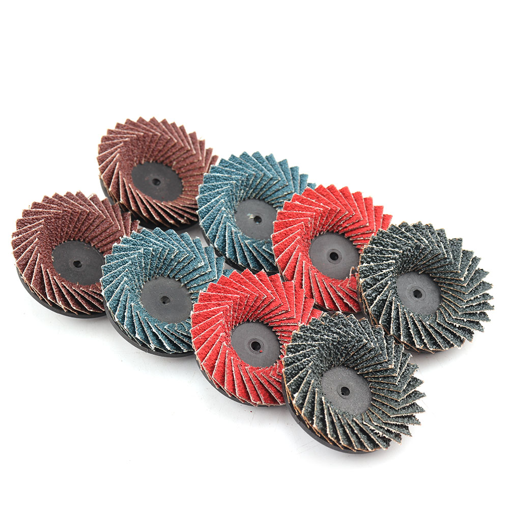 2 Inch Grinding Ceramic Flap Discs Angle Grinder Sanding Discs Metal  Rust Removal Wood Abrasive Tool Blending and Finishing
