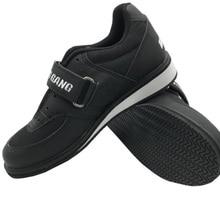 Sinobudo/Профессиональная обувь для тяжелой атлетики; тренировочная обувь для приседания; кожаная нескользящая обувь для тяжелой атлетики