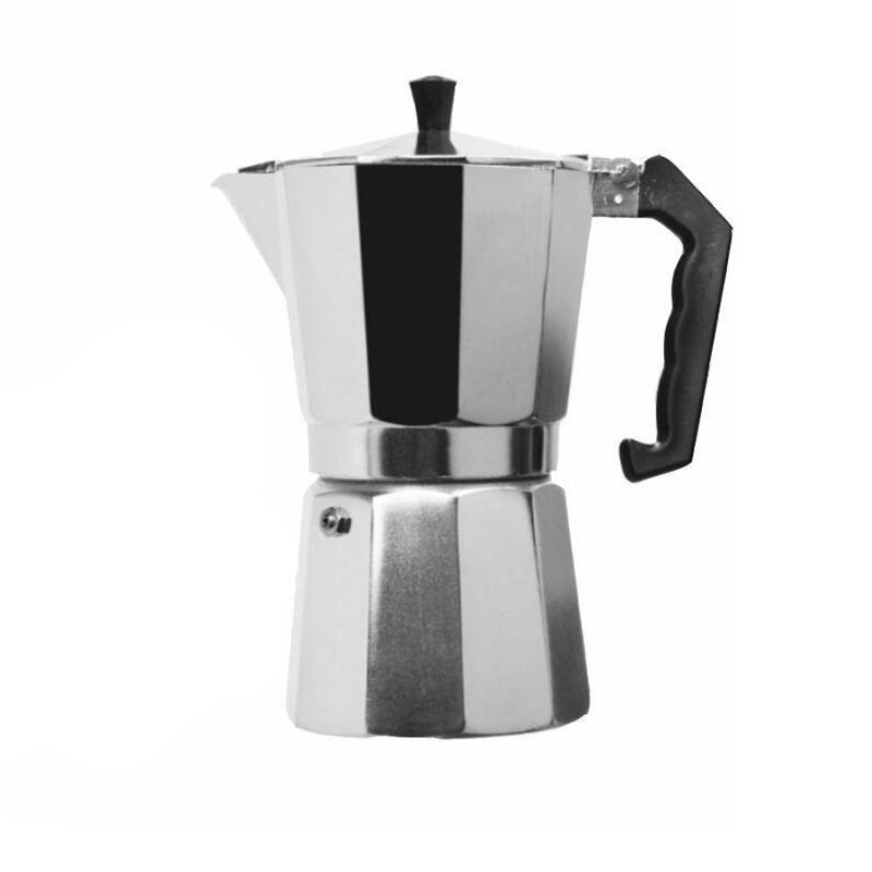 Stainless Steel Coffee Pot Mocha Coffee Maker Glittering Latte Kettle Aluminum Espresso Teapot Percolator