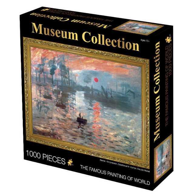 1000 Piece Artistic Jigsaw Puzzle
