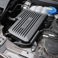 Крышка двигателя автомобиля капот декоративная крышка Украшение компьютера Защитная крышка для Audi A4 B9 8W A5