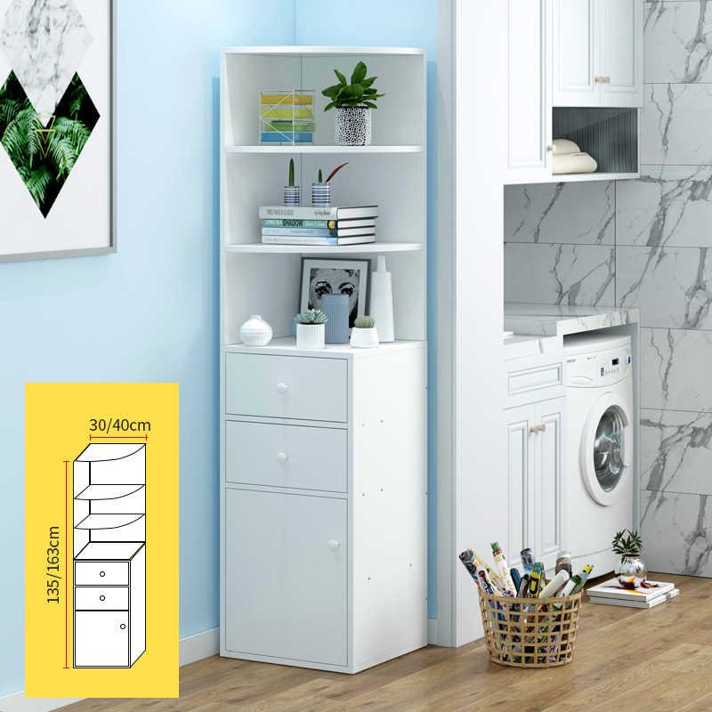 Simple Corner Storage Cabinet