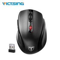 VicTsing  Wireless Mouse 3 Level DPI 6 Buttons Computer Mouse Comfortable Grip Ergonomic Mouse Gaming Mouse For Win 10/8/7/XP|Mice|   -