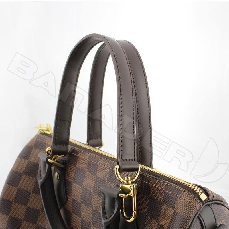 Image 3 - BAMADER obag Handle Short Bag Strap Short Shoulder Strap Handbag  strap Genuine Leather Bag belt High Quality Handbag AccessoriesBag  Parts