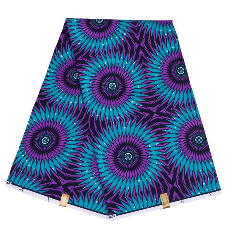 100% Polyester Wax High Quality Ankara Fabric African Sewing Material Veritable Wax Guaranteed Real Dutch Wax