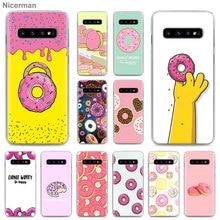 cute Donut Phone Case for Samsung Galaxy